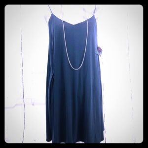 JW Oversized. Black Mini Dress